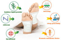 absorb the extra oil (FDA,CE approved) Detox Foot Patch