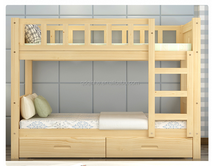 top sale solid wood strong durable pine bed bunk bed walmart