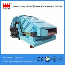 Horizontal sand vibrating grizzly screen sorting shaker