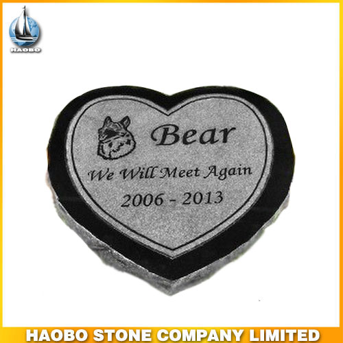 Haobo Stone Heart Types Pet Memorials