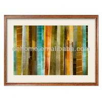 Framed glass painting images