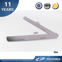 New arrived! White Color LED Door Sill scuff plate For BMW 5 series F10 welcome threshold panel Auto accessories From Pouvenda