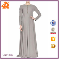 High Quality Muslim Dress Jilbab Islamic Clothing Malaysia Women Long Dress Fashion