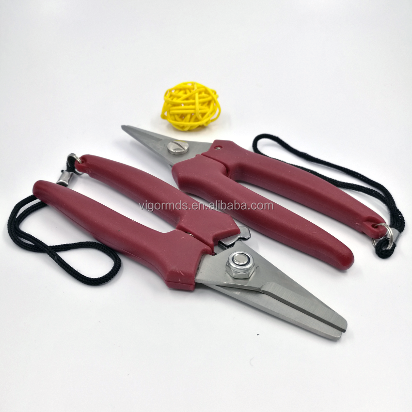 "(SC-G600S) 6"" Classical High Quality S/S Blade Grape Scissors Secateurs Pruning Shears Hand Pruners"