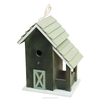 Trade assurance China factory FSC solid pine wild garden wooden bird gift pet cage carrier house for shope