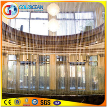 Outdoor Using Decorated Multicolored Led Light String Water Curtain