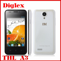 wholesale cheap original thl a3 mtk6572 dual core 512MB ROM android 4.2 smart phone