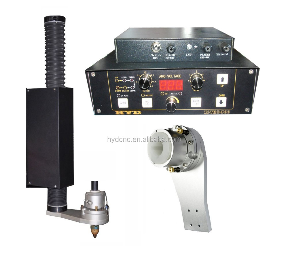 Torch height controller with lifter and anti-collision fixture torch holder for cnc plasma cutting machine