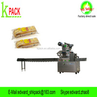 Kpack Bread horizontal packaging machine