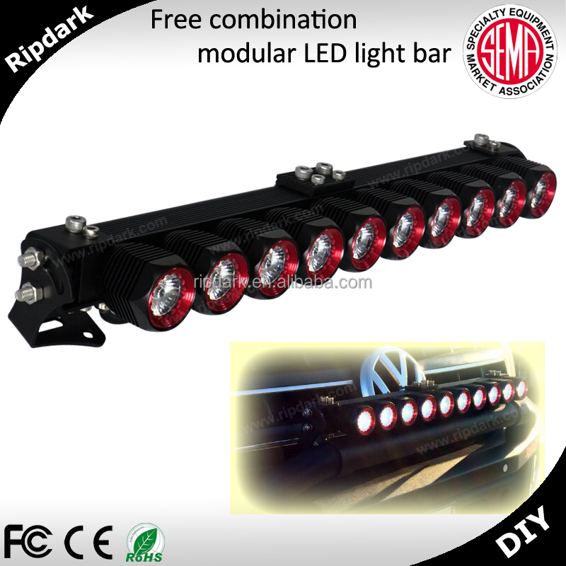Auto lighting high quality led offroad driving light cree led light bar for car