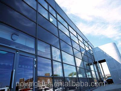 Low-e double glazing glass for doors and windows
