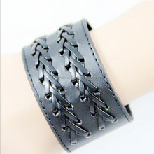 Jewelry factory latest hot selling braided leather waistband