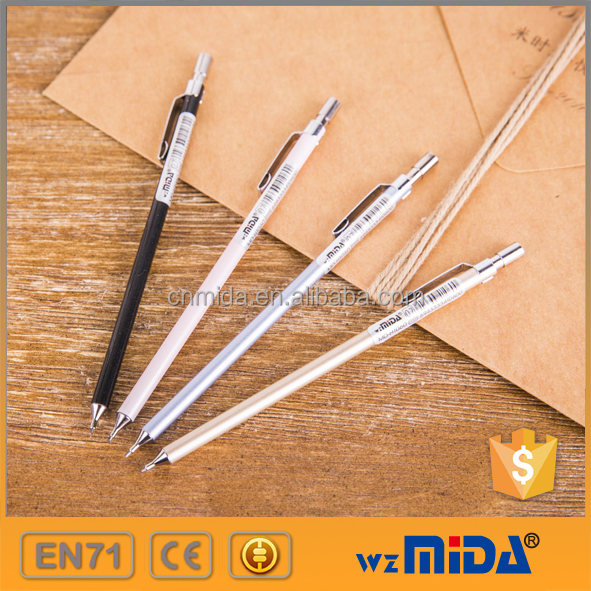 slim full metal mechanical pencils for gift or promotion MD-H1060