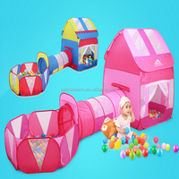 Factory price promotion kids indoor outdoor play tunnel tent