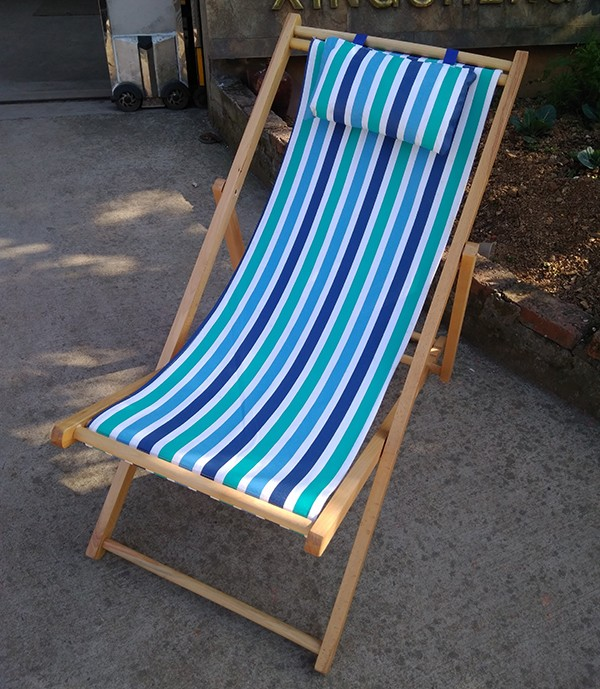 Factory high quality wooden deck chair folding deck chair View deck chair