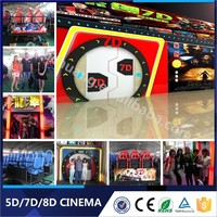 4D 5D Movies Children's Game 5D Cinema With Outside Cabin/Box