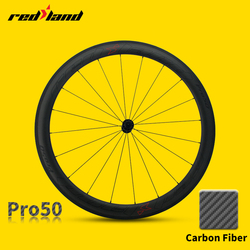 700C Clincher Carbon Road Bike Wheelset 50mm Ultra Light Carbon Wheels bicycle rims