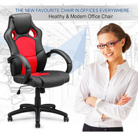 BaZhou Furniture high back armrest ergonomic leather executive office chairs with wheels
