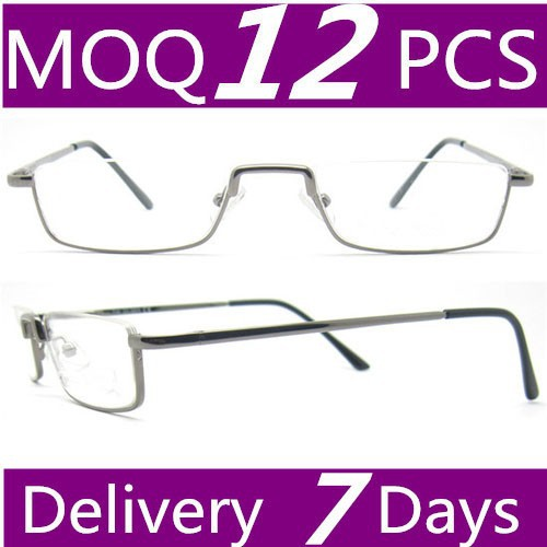 2015 hot sell old fashion prescription reading glasses for men use metal glass manufactory wholesale reading glasses