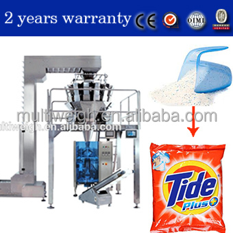 detergent washing powder bag making packaging machine made in china