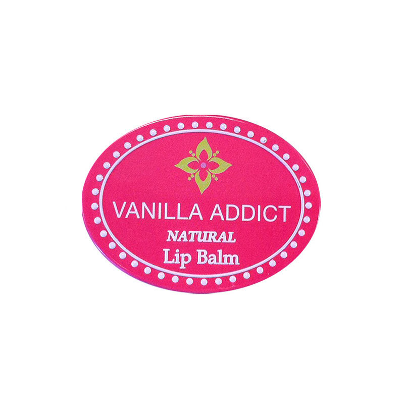 Evodia Vanilla Addict Lip Balm Natural 11g in container (Luxury) Australian made - no parabens and harsh chemicals