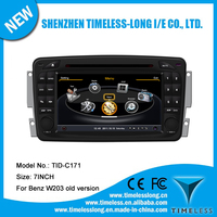 Car DVD Player for Benz C class W203 2000-2004 with built-in GPS A8 chipset RDS BT 3G/Wifi DSP Radio 20 dics momery(TID-C171)
