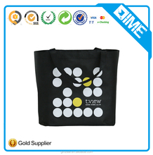 Silk Screen Logo Print Advertising Wholesale Eco Custom Cheap Promotion Shopping Non Woven Fabric Bag