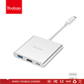 Yoobao 2016 Newest high quality Type-C Hub with new functions for Macbook