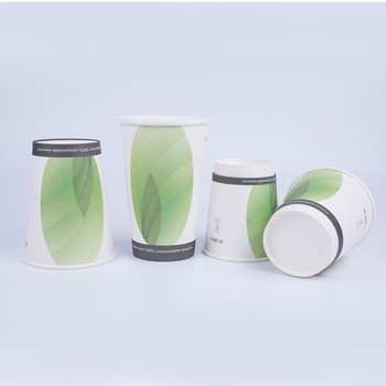 Wholesale disposable printing high quality paper coffee cups