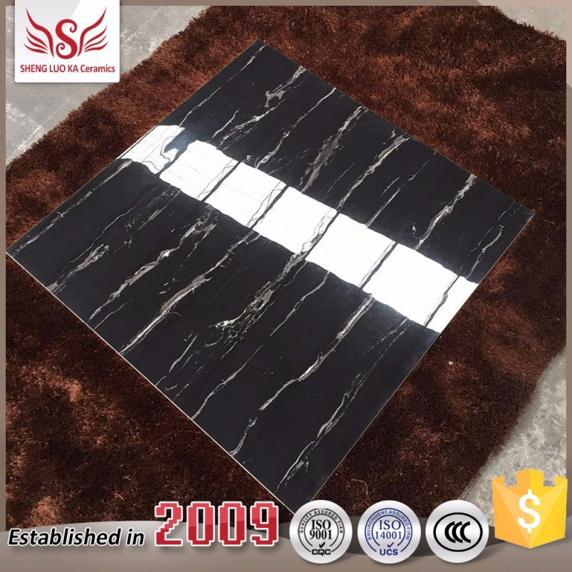 Made in Foshan China special design double color glazed ceramic roof tiles