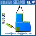 lipo battery 12v 6500mAh , rechargeable lithium ion battery,for wireless charging