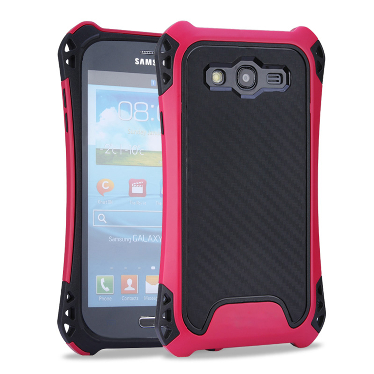 Protective combo case TPU + PC phone case for samsung 9082