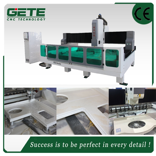 from manufacture atc granite engravingcnc router 4 axis Stone Benchtops
