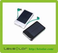 Portable solar charger universal smartphone power bank for iPhone 6,6 plus