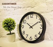 Cason 12'' quartz wall clock young town movements