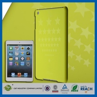 Latest Fashion Design for ipad mini 2 color printing plastic case