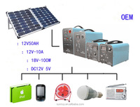 2016 portable solar power for home use outdoor and travel