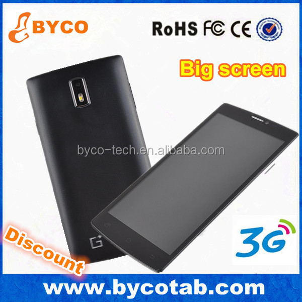 very cheap big screen android phone 3G 850/1900/2100 MHZ quad band gsm 850 900 1800 1900 mhz