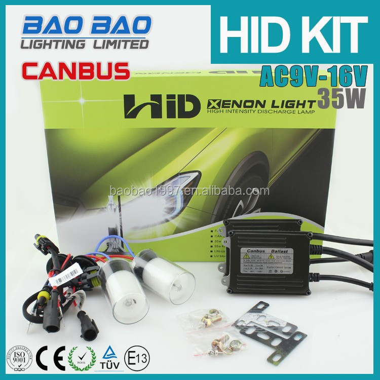 China leader hid xenon manufactuer baobao lighting offer strongest thick canbus hid xenon ballast,hid bulb,canbus hid kit