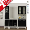Factory price kitchen cabinet set/kitchen cabinet designs used restaurant furniture
