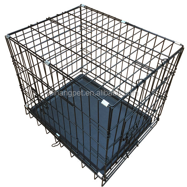 Dog Crate Factory ,Dog Cage Wholesale , Black Dog Kennel , Cheap