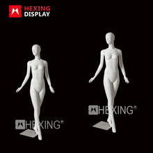 Wholesales Glossy White Female Dancing Mannequin