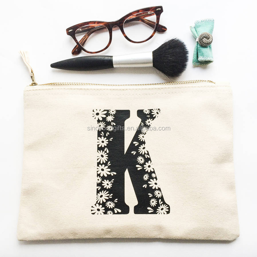 2016 Wholesale cheap eco-friendly new fashion custom printing make-up bag