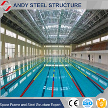 Best quality promotional steel building for swimming pool roofing