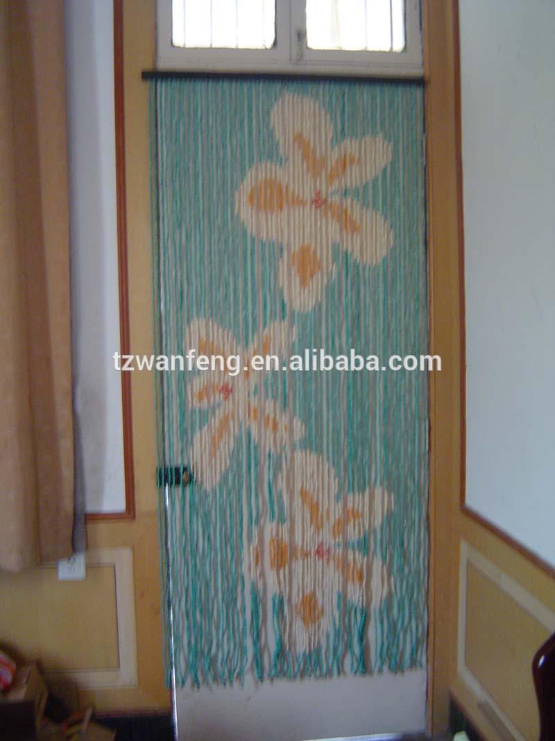 2014 fleur en plastique rideau de porte peinture bois de printemps de d coration rideau rideau. Black Bedroom Furniture Sets. Home Design Ideas