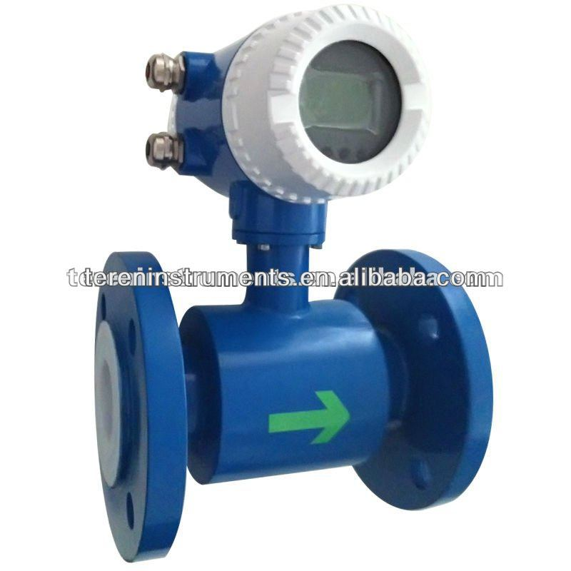 Tubine manufacturer supplier liquid water Electromagnetic flow meter