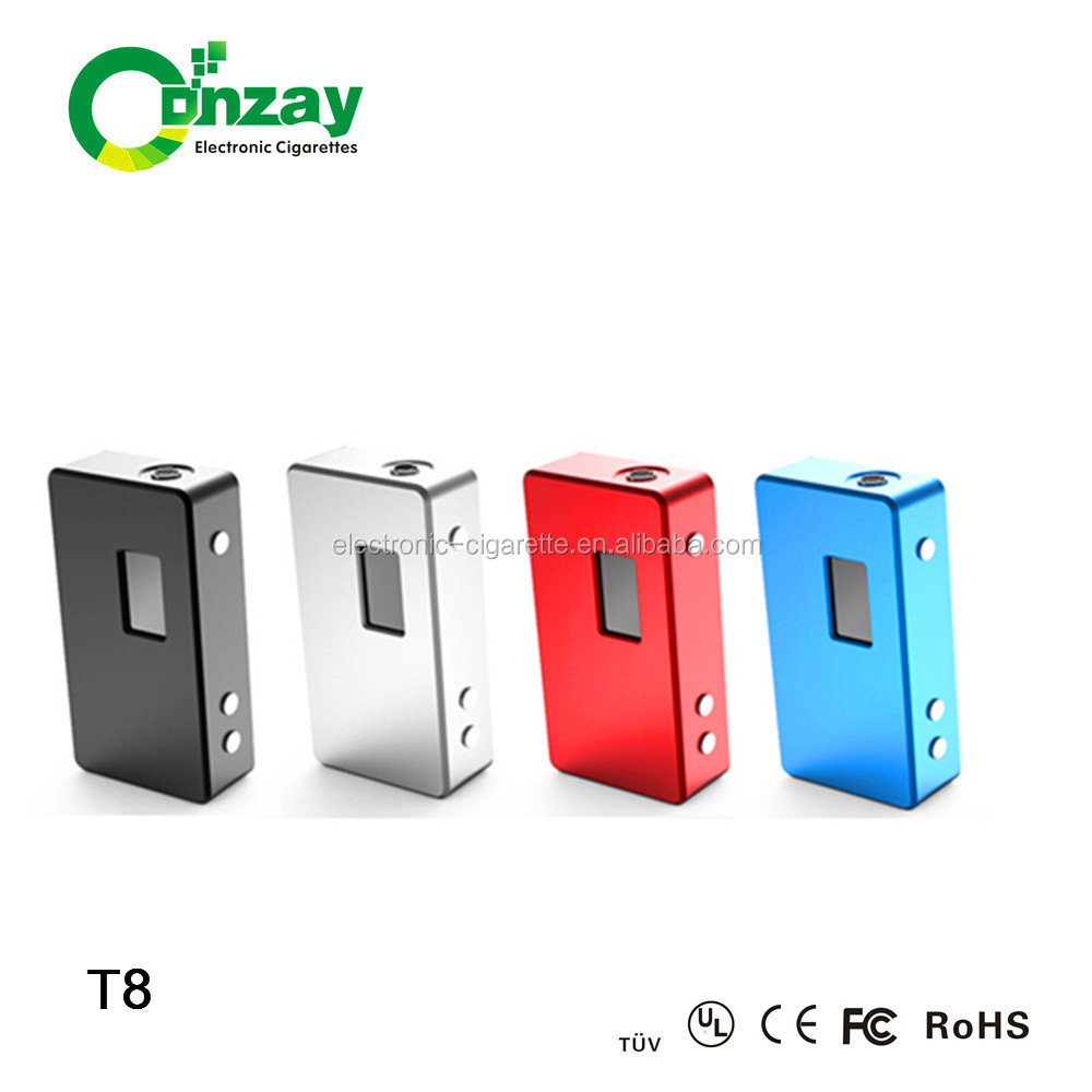 2014 China supplier cloupor t8 mod 150w box mod suits 18650 battery