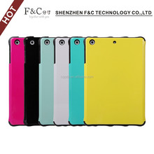 2014 new Various colors for ipad mini 2 tpu pc cover case