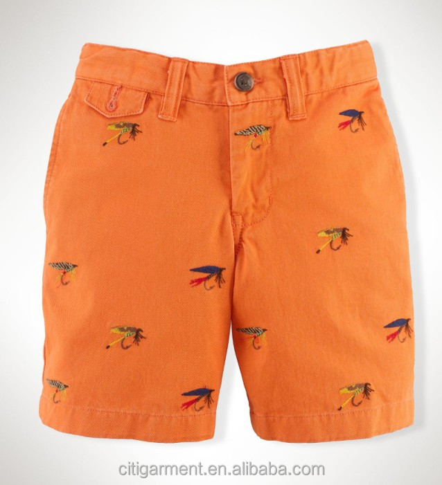 Childred Boys Cotton Schiffli Shorts 8-20years