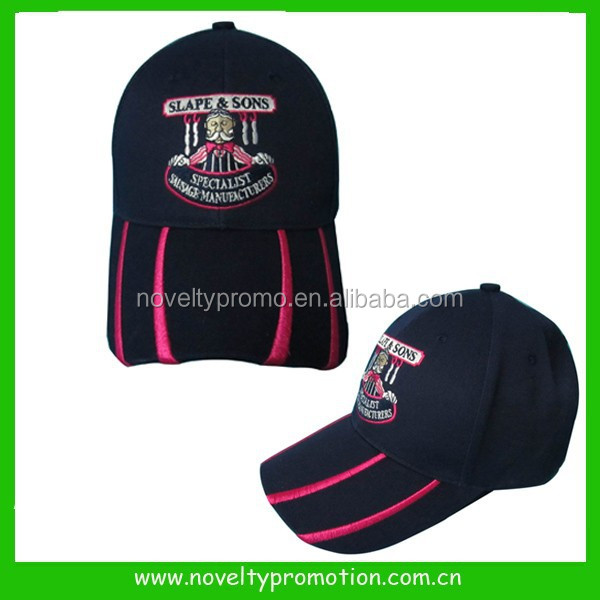 Cheap Baseball cap with embroidery logo on